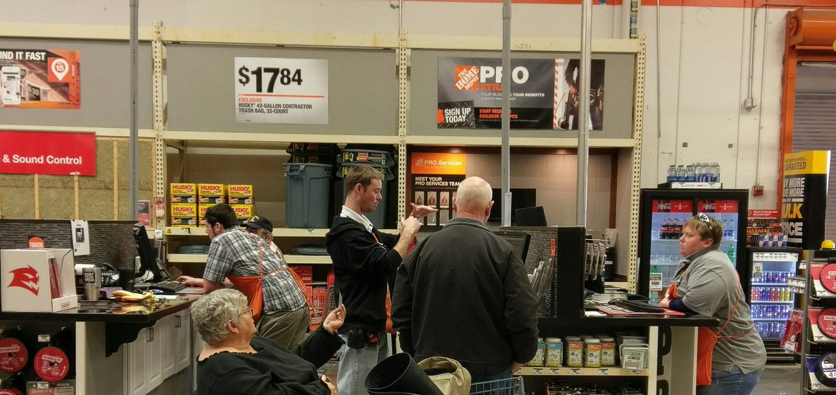 Stepped Away Long Enough To Snap A Pic. Weu0027re Hustling At The #prodesk  Today. #4650 #thd #orangelifepic.twitter.com/tKTImMfJ0M U2013 At The Home Depot