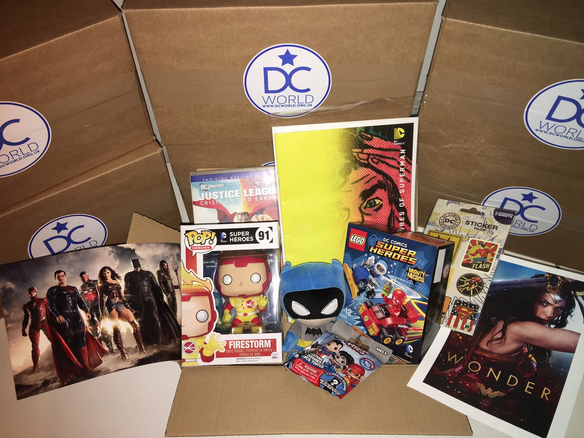 Dc World Will Be At Dcfandome 08 22 20 On Twitter Still A Few Left The Dc World Mystery Box Of Dc Goodies Available Here Https T Co Zlc19gr7al