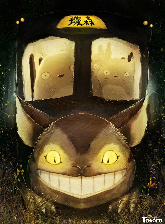 Bonne soirée avec cet effrayant Chat-bus signé Alben sur DeviantArt #Ghibli #Totoro #Chatbus #StudioGhibli<br>http://pic.twitter.com/DSuZpggWNK