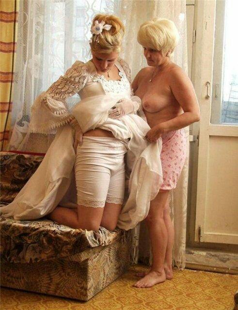 фото старушек в трусах