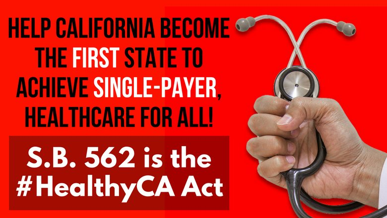 TOMORROW join @CalNurses at the #HealthyCA rally:  http:// bit.ly/2lpr9i4  &nbsp;    Winning #SB562 in CA is key to achieving nationwide #Medicare4All <br>http://pic.twitter.com/l6FeNT5IJV