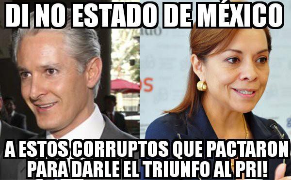 Di no Edomex a estos corruptos @alfredodelmazo y @josefinavm que pacta...