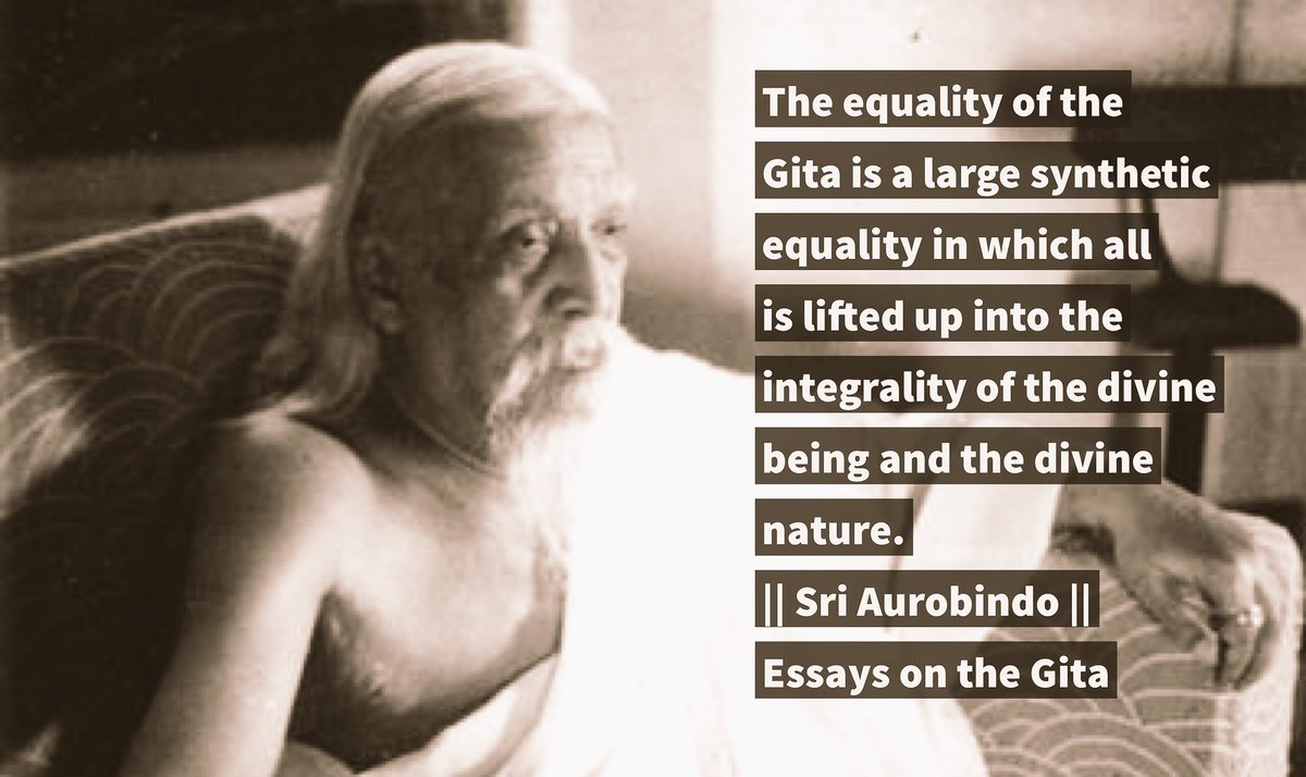 integralyoga on topsy one the equality of the gita is a large synthetic equality sriaurobindo integralyoga pic twitter com n8wbdkccal