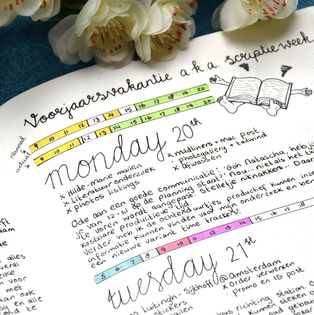 The result of my first day using a double time tracker.  what&#39;s your favorite way to track time? #planner #bulletjournal<br>http://pic.twitter.com/UKtiPDpKp7
