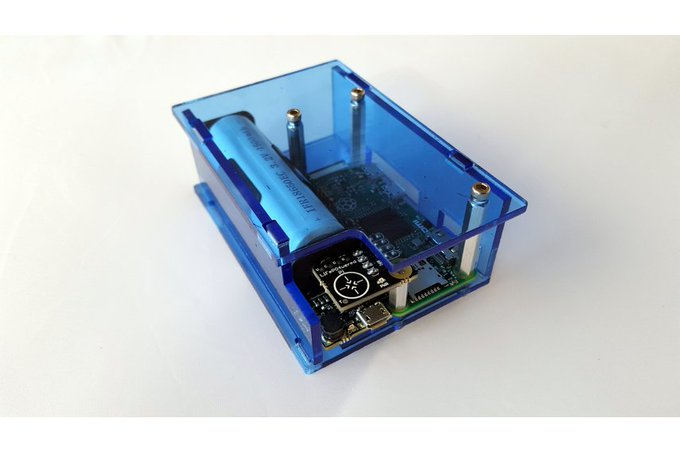 Enclosure for Raspberry Pi Zero & LiFePO4wered/Pi3 by Marty Rice