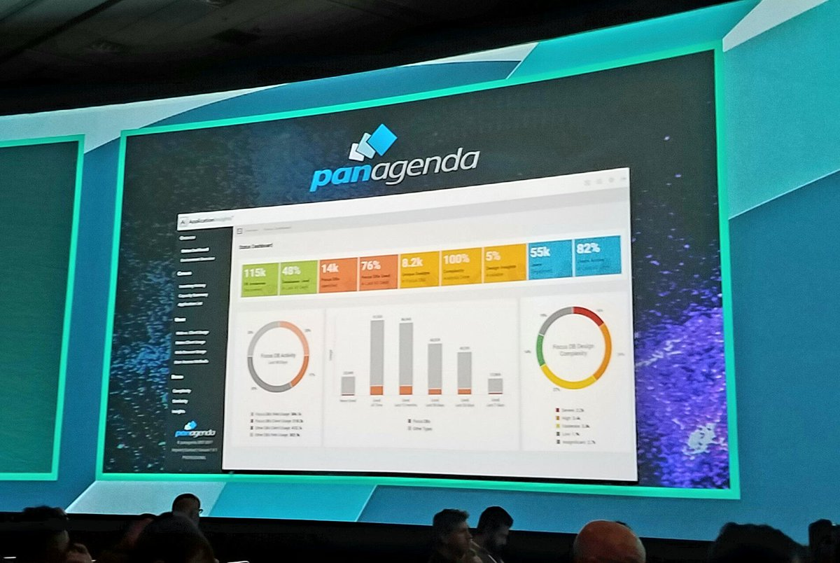 #Woohoo @panagenda Helping customers manage and evolve their #Notes/Domino investment through assessment &amp; action #IBMConnect <br>http://pic.twitter.com/8hE07ApiwC