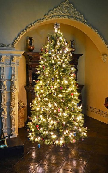 Balsam Hill Au On Twitter Our Lovely Silverado Slim Christmas Tree
