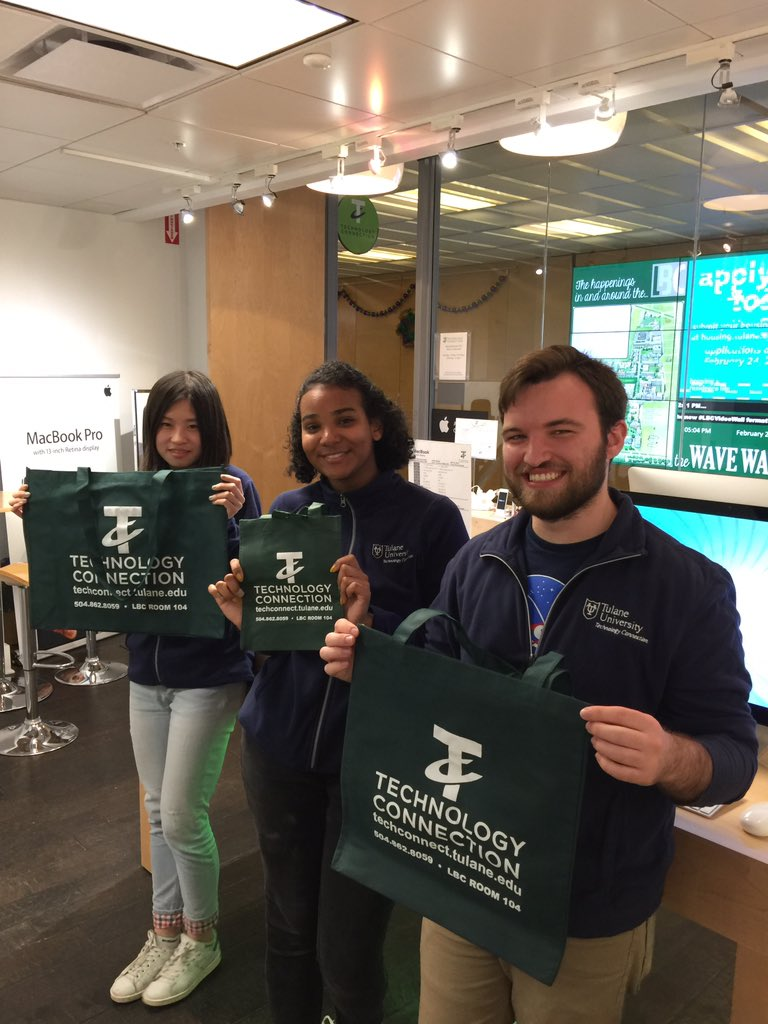 @TulaneDining @UnivSvcs @GreenTulane  we reduce waste with reusable bags! #TulaneRecycles https://t.co/ailz95OiLb