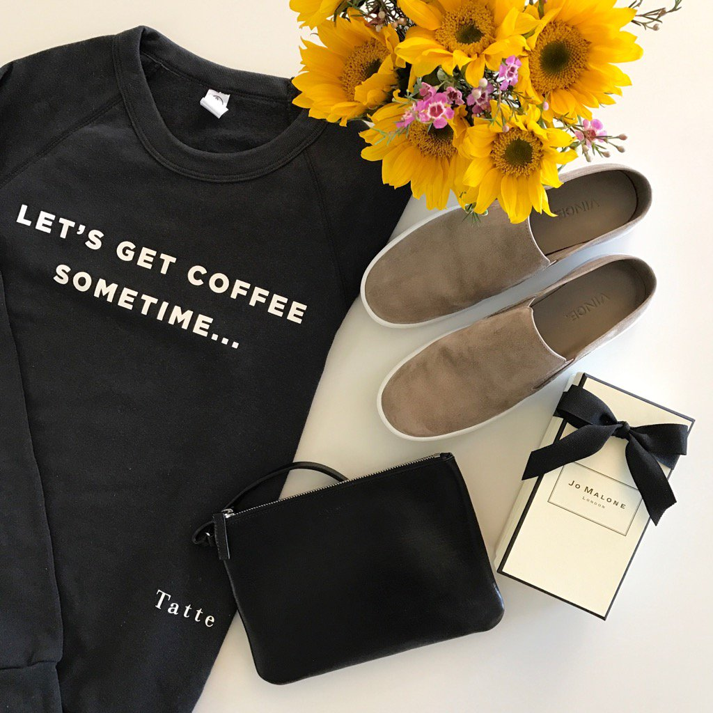 In  with my @TatteBakery sweatshirt! #OOTD #vince #Givenchy #jomalone #coffee #sf # #coffeelovers #coffeetime<br>http://pic.twitter.com/vMUGvZrpPg