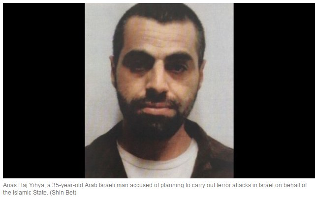 #Arab- #Israeli charged with planning #TelAviv bus bombing and is teaching the #IslamicState how to make nerve gas  http:// stfi.re/jegekaj  &nbsp;  <br>http://pic.twitter.com/ZdFHLLIHNr