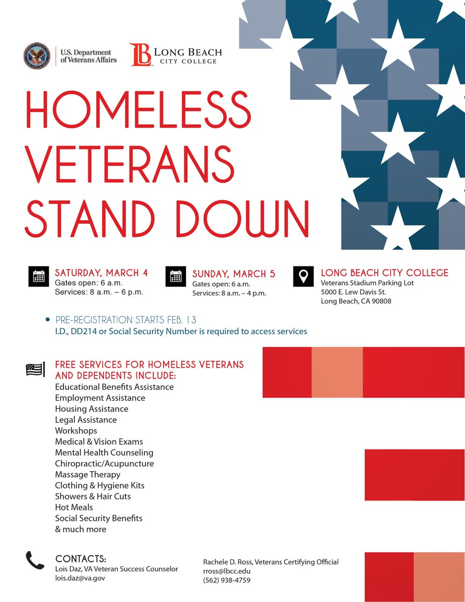 #homeless #veteran #standdown March 4 &amp;5 in #LongBeach please #RSVP at  http:// ow.ly/fTer308yf29  &nbsp;    #military #help #service #OIF #OEF #OND<br>http://pic.twitter.com/HekcVOku0i