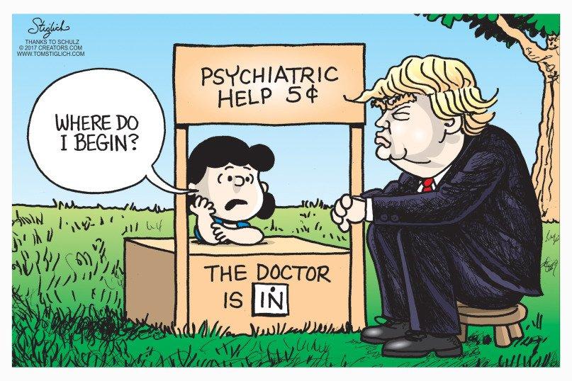 Image result for trump mental health