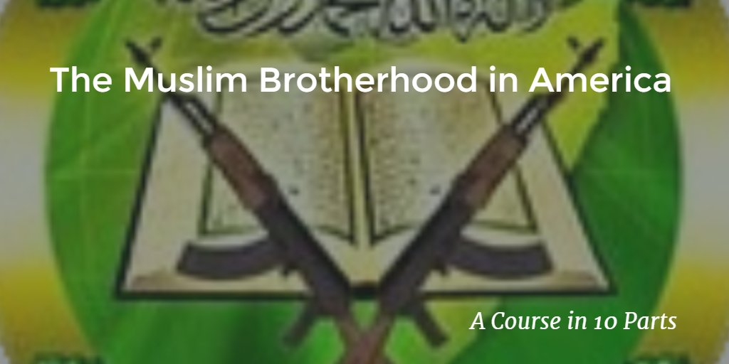 10 part course. Excellent primer on #MuslimBrotherhood #RT  http:// conscores.org/w5n7  &nbsp;   @SecureFreedom #tcot <br>http://pic.twitter.com/db8yvmgrOR