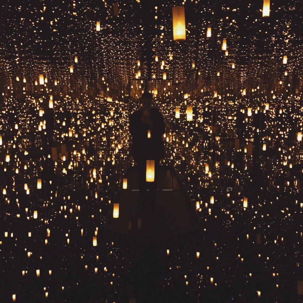 We are speechless ★ #InfiniteKusama #SaluteToDesign @Hirshhorn https://t.co/bl7YBKLDKn