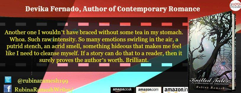 RT Author_Devika: RT tbcblogtours: #KnittedTales rubinaramesh199 #Anthology #Thriller #Horror Author_Devika  … <br>http://pic.twitter.com/zHplti2BWO