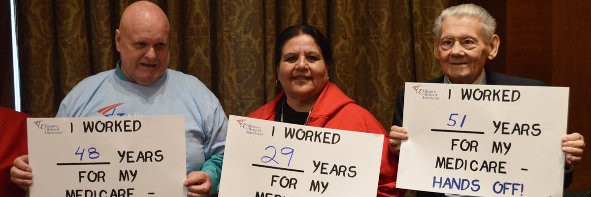 &quot;I worked _____years for my medicare&quot;  #KeepYourHandsOff #Medicare <br>http://pic.twitter.com/ZiLUN8aJbs