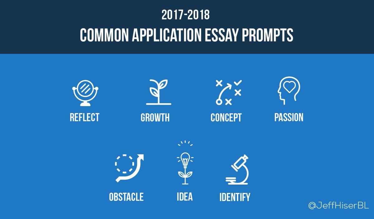 Common app essay help 2017