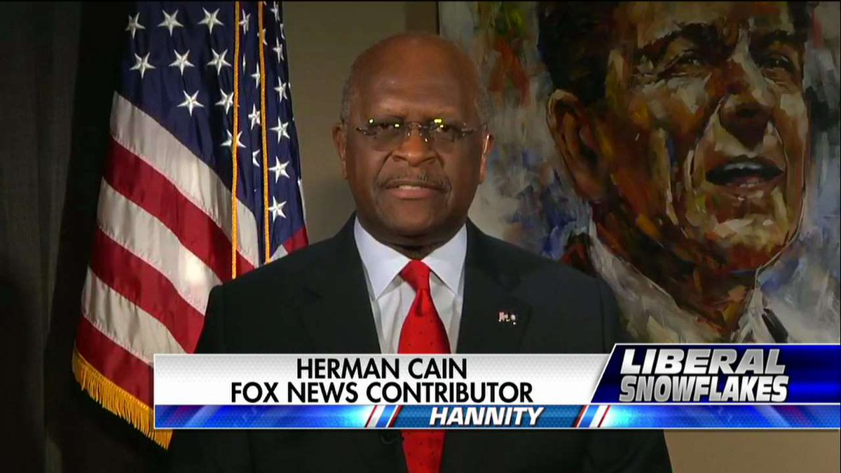 """.@THEHermanCain: """"Those protests on Presidents Day, I think they did not succeed in changing anybody&#39;s minds.&quot; #Hannity <br>http://pic.twitter.com/wZQfedKTfY"""