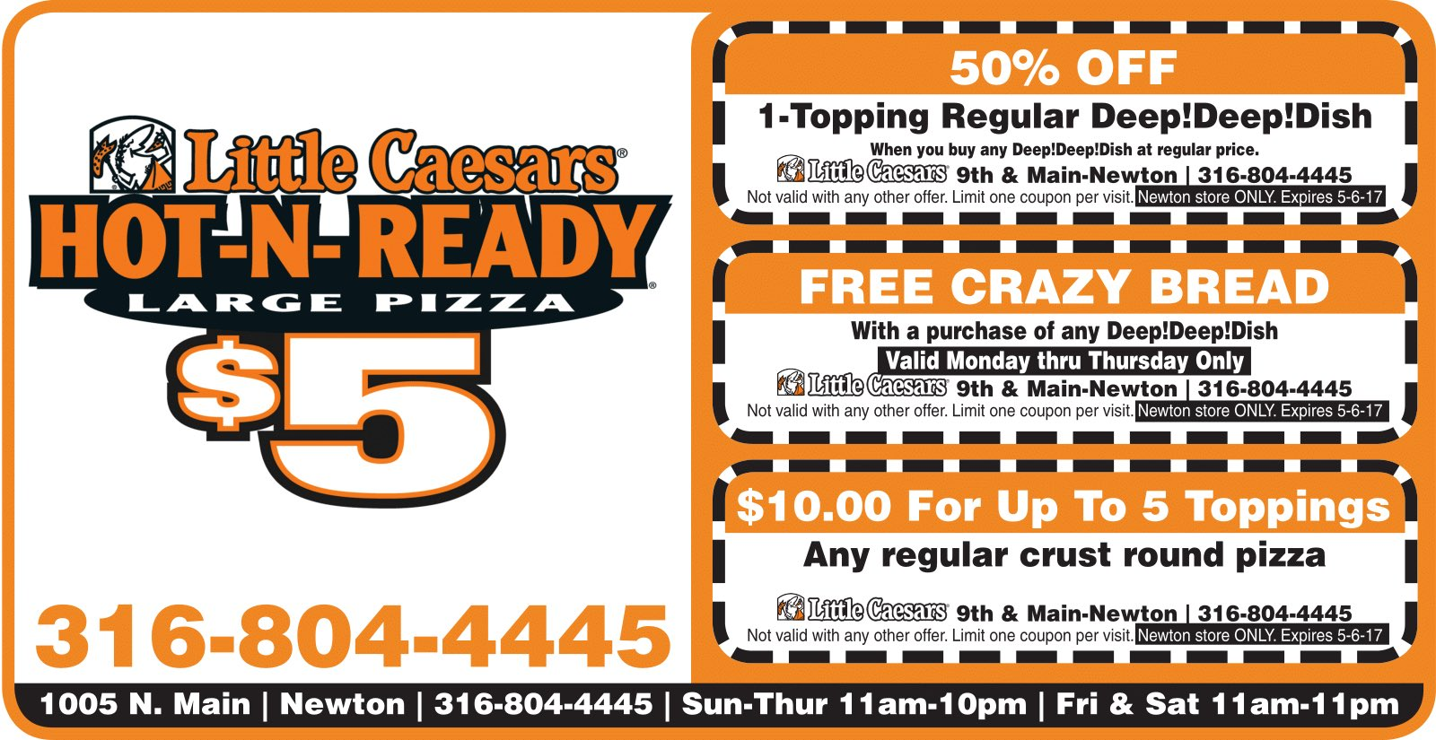 lil ceaser pizza promo code
