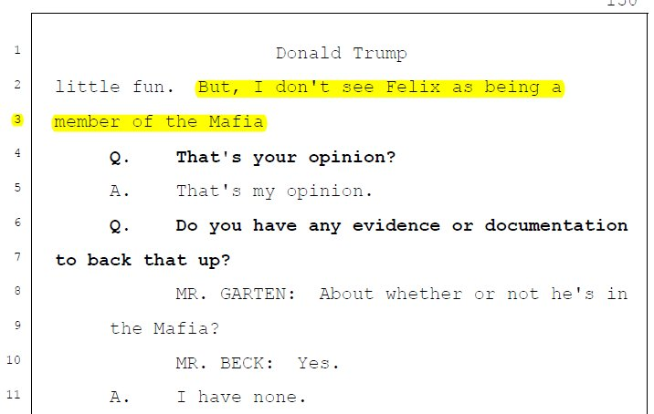 Susan simpson on twitter felix sater is someone that president trump is not only sure that he doesnt know felix sater he is equally sure that this guy he doesnt know is not connected to the mafiapicitter colourmoves