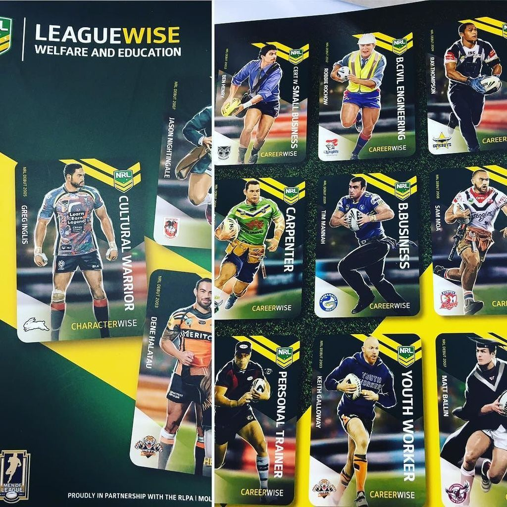Great to see how @nrl is doing more than just the game. I'm getting to see some amazing initiatives here. #lovethej… pic.twitter.com/X8c7uB0eUx