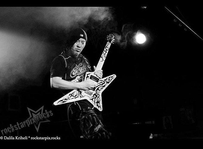 Happy Birthday! 222  Guitar god Akira Takasaki.