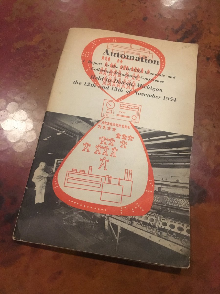Fears of automation and the need for universal basic income in Detroit, Michigan on Nov. 12 & 13, 1954. https://t.co/lYMgH33Xhv