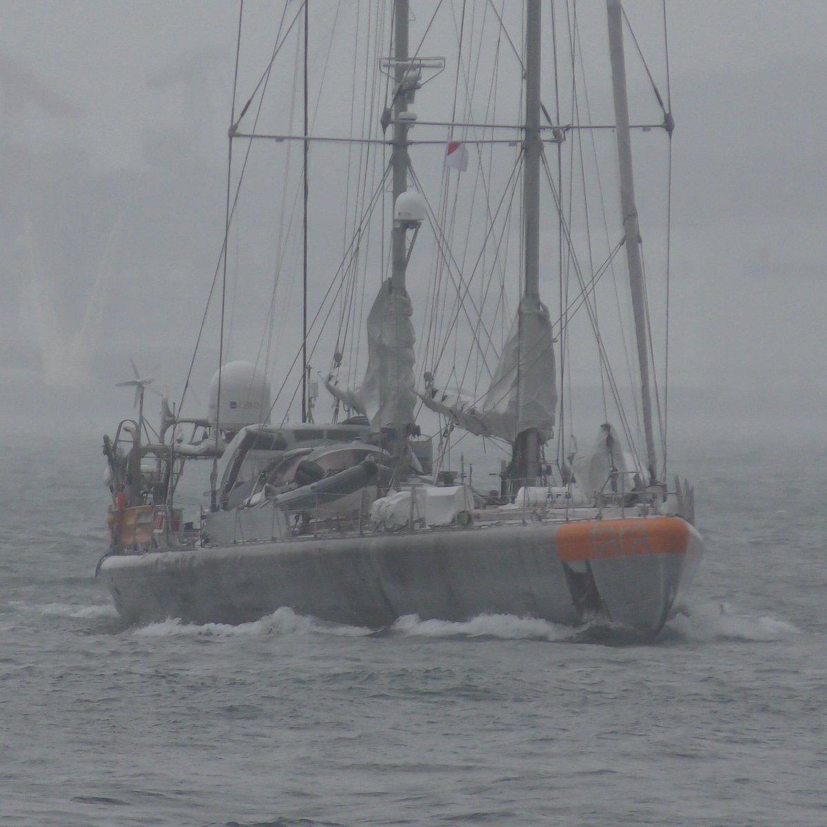 #climate #OceanSummit @binmei @TaraExpeditions Tara of #TaraPacific Bon voyage!<br>http://pic.twitter.com/cMoefwBVOq