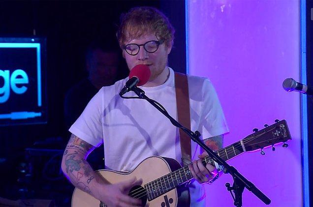 Watch Ed Sheeran perform