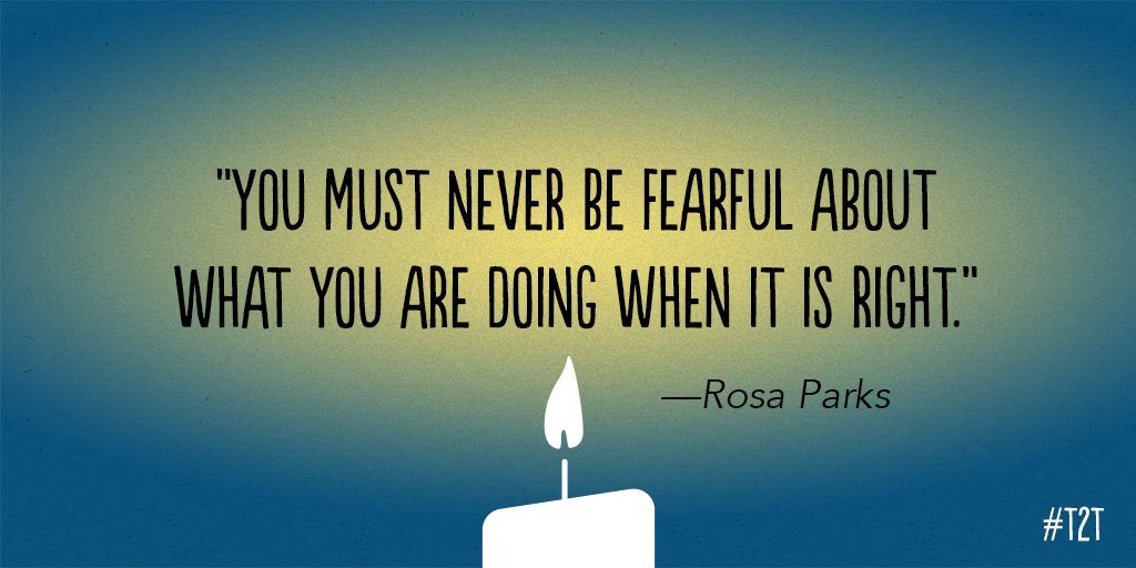 Some #WednesdayWisdom to help you overcome fear. https://t.co/8POJQ3ni...