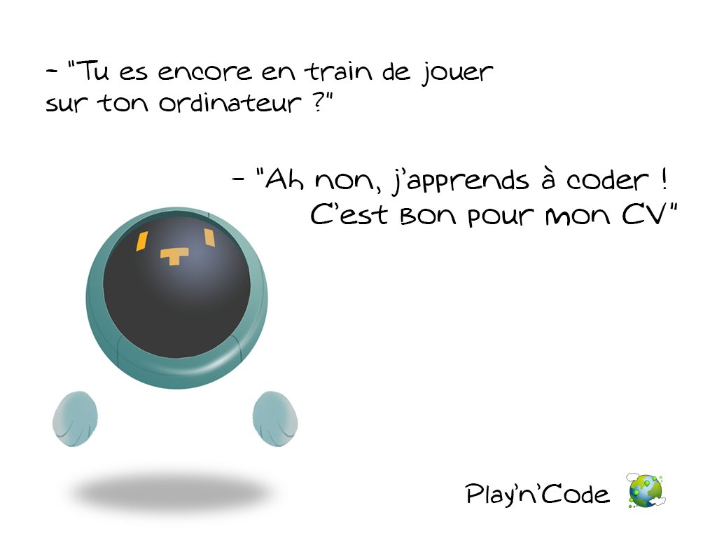 Pssst les ados, on a trouvé une bonne excuse pour vous ! Venez coder !! ;) #code #jeuvideo #tty #playncode #edtech #education<br>http://pic.twitter.com/LoTbfCgBjH