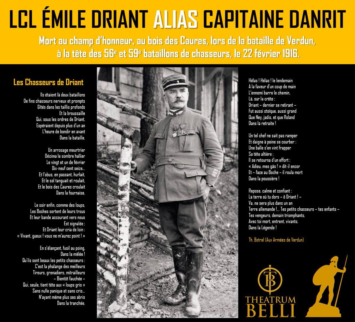 22 fév 1916 : Mort au champ d&#39;honneur du LCL Emile Driant, député de #Nancy (alias Capitaine DANRIT, nom d&#39;écrivain) #Verdun #Guerre #WW1 <br>http://pic.twitter.com/aCEIGKRgbl