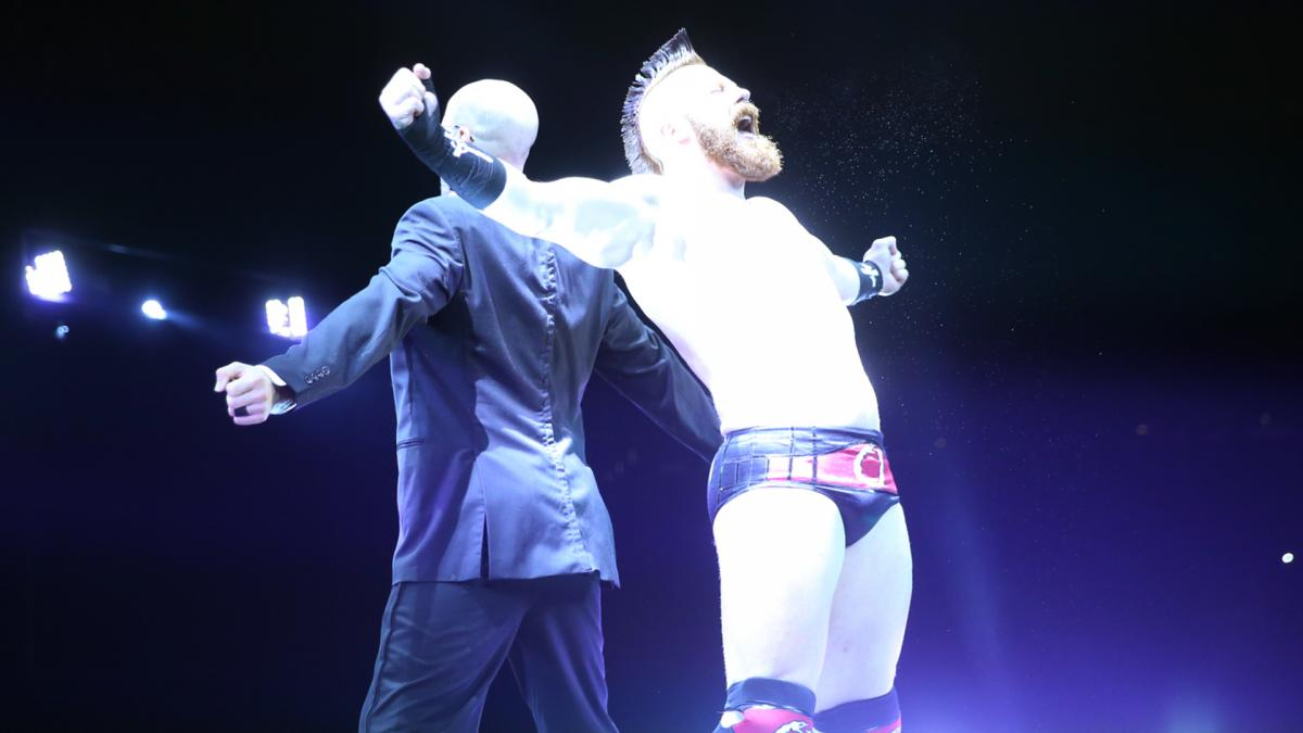 Image result for sheamus and Cesaro entrance