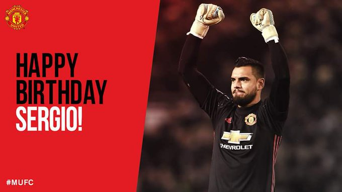 Happy 30th birthday to Reds goalkeeper, Sergio Romero!