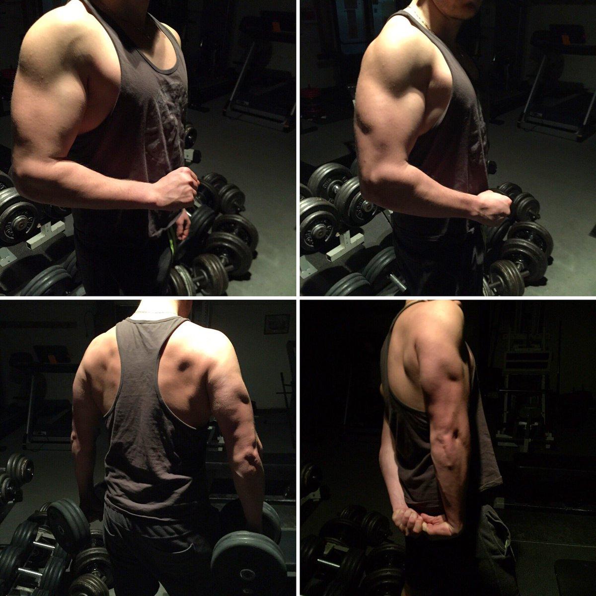 Ne rien lâcher pour atteindre ses objectifs #enormeetsec #NeverGiveUp #rizdinde #Myprotein #bodybuilding  @TiboInShape @NassBridges<br>http://pic.twitter.com/JWMoSeJG7e