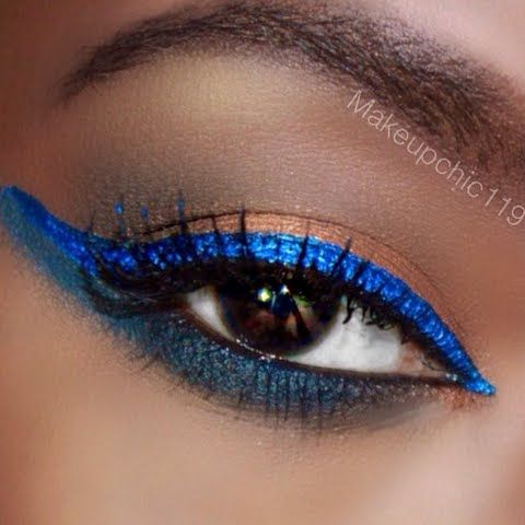 Bluesy Neutrals Eyes by Jane Carla K