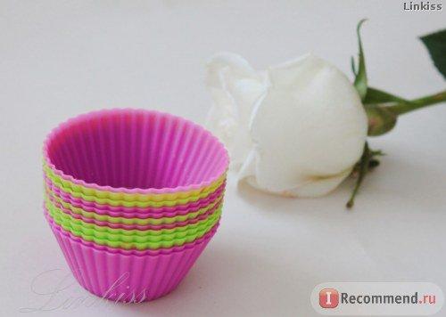Рецепт ванильных кексов в силиконовых формочках