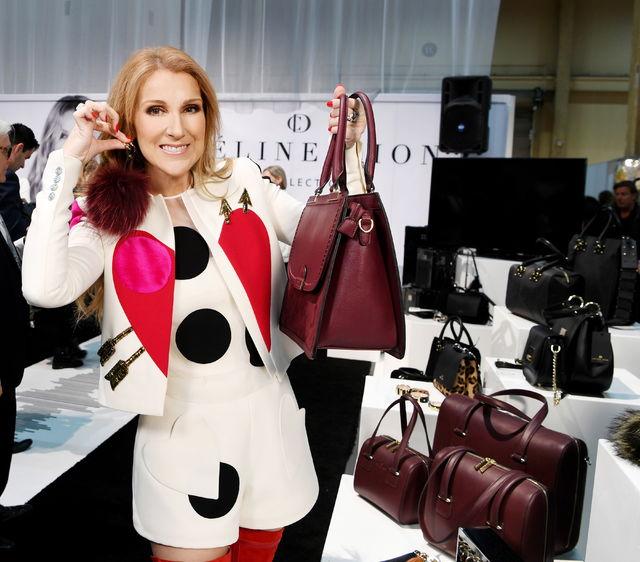 #Mode: #CélineDion a dévoilé à Las Vegas sa collection attendue de sacs à main... qui comporte jusqu'à 200 pièces. #Québec @mcnallyandrew<br>http://pic.twitter.com/pqhfXONwCc