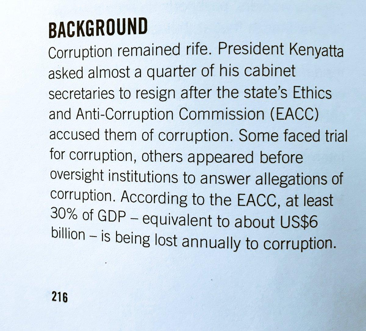 Kenyan Cabinet Secretaries Bmunbounded On Twitter Corruption Remained Rife In Kenya