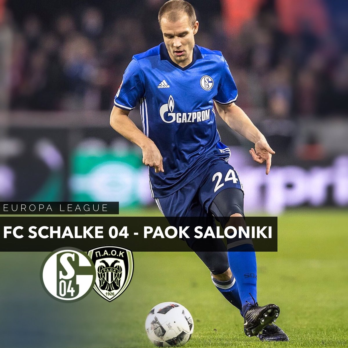 Matchday! 👊 #S04PAOK https://t.co/WyJYJSolQi