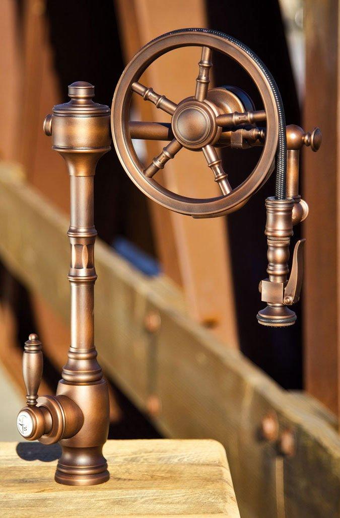 Le style #Steampunk c'est la classe même dans le détail, la preuve avec ce robinet  https://t.co/wc3NJ45keK #home