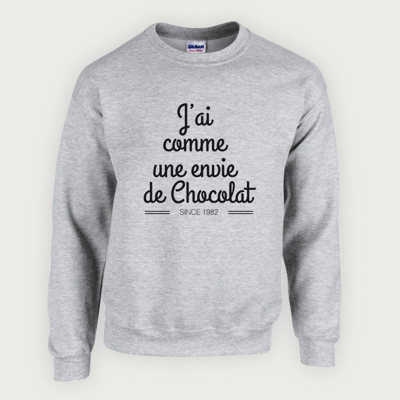 Envie du jour!  https:// goo.gl/sQZeUv  &nbsp;   #chocolat #tshirt #sweat #mode #fashion #blogueuse #love #gourmandise #fun #teeshirt #trend #cute<br>http://pic.twitter.com/JdaBfcU8hw