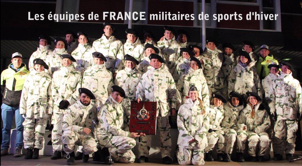 #Sport Top départ pour les 3e jeux mondiaux militaires d&#39;hiver à #Sochi 8 gendarmes dans la délégation française #JMMH #FiersDêtreBleus<br>http://pic.twitter.com/XwyzpB4caU