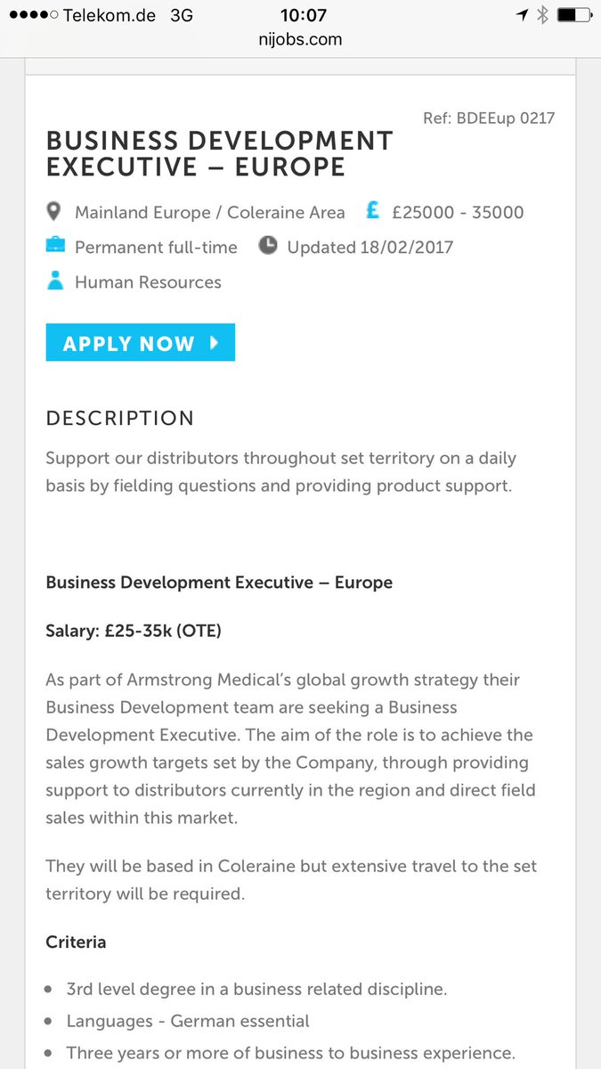 armstrong medical on more exciting career opportunities armstrong medical on more exciting career opportunities on t co cuaupb8ejz t co k4urutwkel
