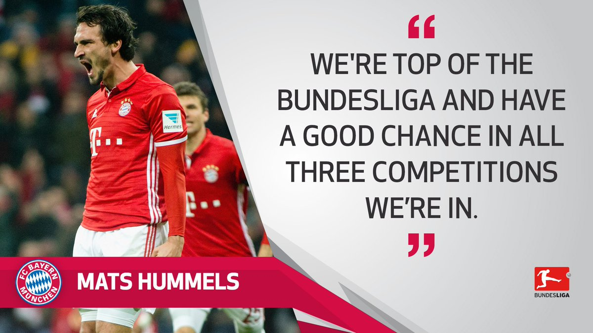 . @matshummels spoke to us about how this season is shaping up for @FC...