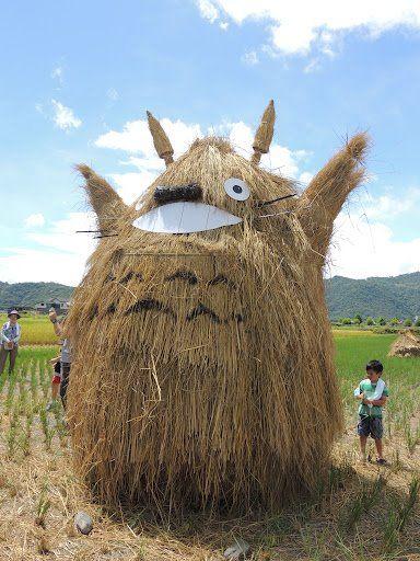Un Totoro de paille, ça sent le printemps ! #Ghibli #Totoro <br>http://pic.twitter.com/xgzviFnNYV