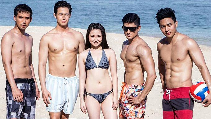LOOK: Barbie Forteza in bikini, #MeantToBe boys go topless! View: http...