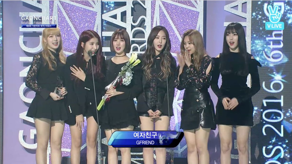 Artist of the Year-Digital for January goes to GFriend!! Congrats! #Ga...