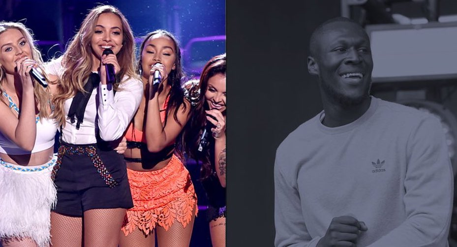 'Their song Touch is a banger'  Stormzy: @LittleMix deserve a Brit awa...