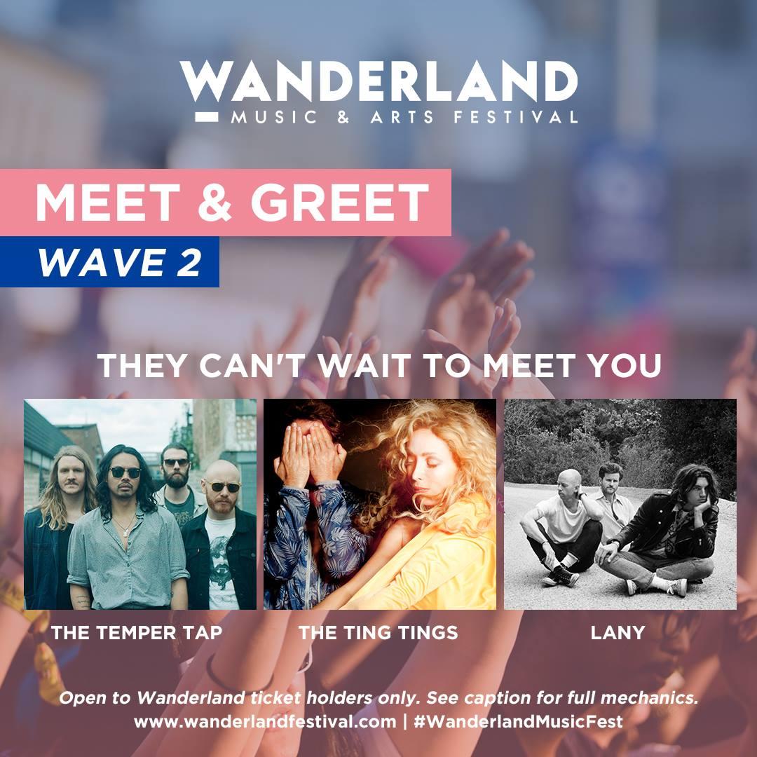 Bandwagon Ph On Twitter Contest Wanderland Is Giving Away Meet